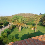 Vista dal terrazzp